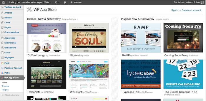 Le WP App Store est lancé avec de nombreux thèmes et plugins de partenaires - Thèmes et plugins nouvellement disponibles sur Wordpress