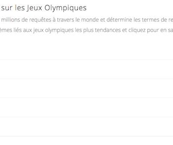 Les Jeux Olympiques de 2012 à Londres en direct sur Google – Découvrir et apprendre plus