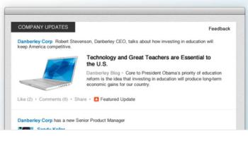 Les nouvelles pages LinkedIn dédiées aux sociétés sont prêtes à être dévoilées