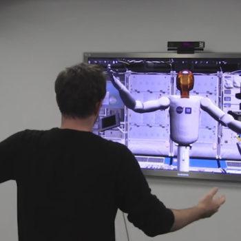 Les Oculus Rift et le Kinect utilisés pour bras de robot développé par la NASA