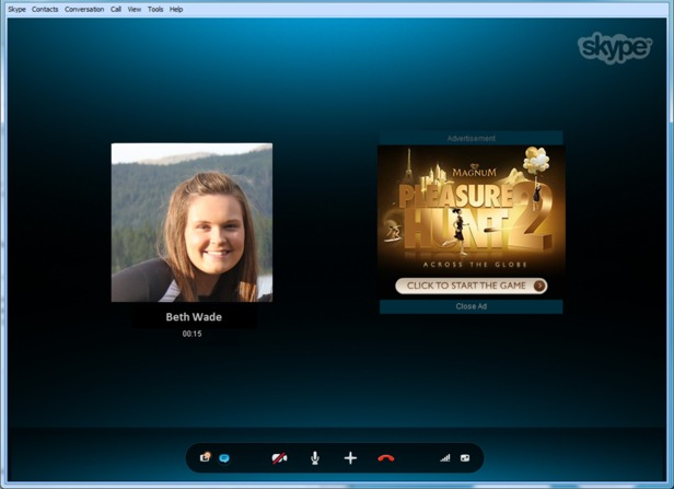 Les publicités dans Skype arrivent dès aujourd