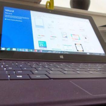 Les tablettes Surface seraient plus adaptées en entreprise par rapport aux iPads