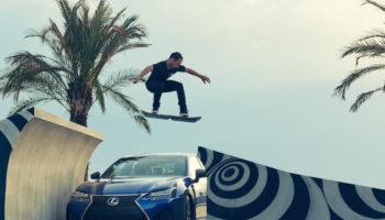 Lexus a finalement présenté son hoverboard