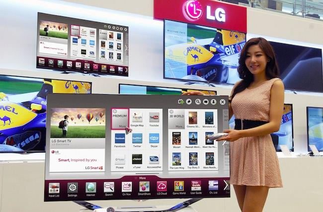 LG acquiert le code source de webOS et les brevets de HP