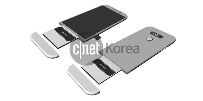 LG G5 : il pourrait mettre en exergue une conception modulaire