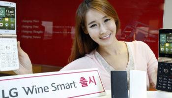 LG Wine Smart : un smartphone Android à clapet pour les nostalgiques