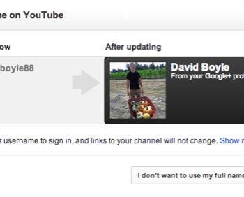 Lier votre chaîne YouTube avec votre page Google+