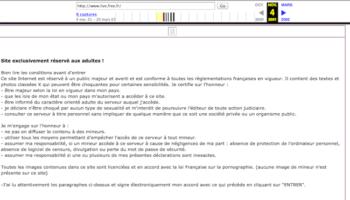 live.free.fr est un ancien site pornographique…