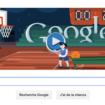 Londres 2012 Basketball en doodle du jour