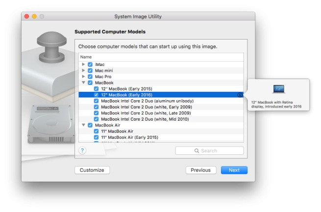 OS X 10.11.4 indique une libération d