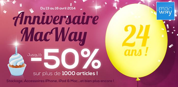 24 ans, ça se fête ! 1000 produits en promo et 1 cadeau avec le code BIRTHDAY24 (dès 199€ d