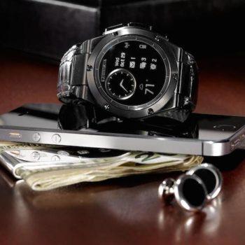 MB Chronowing : la smartwatch de HP ressemble à une montre