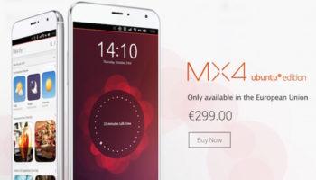 Meizu MX4 Ubuntu Edition : vous pouvez l