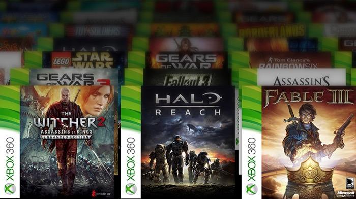 Jeux de la Xbox 360