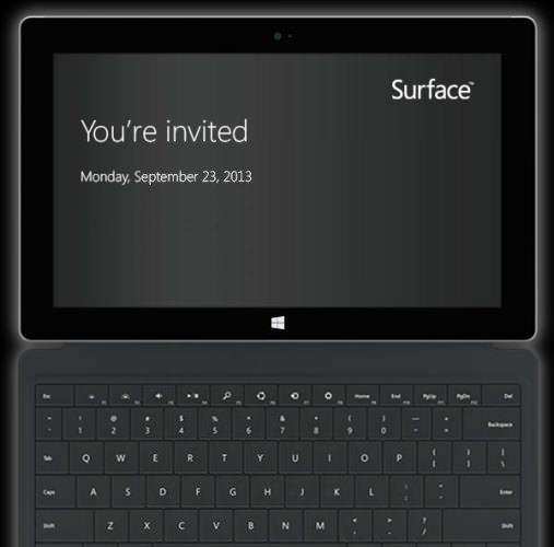 Microsoft annonce un événement à New York le 23 septembre centré sur la Surface 2.0