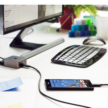 Microsoft montre Continuum, pour utiliser votre smartphone comme un PC
