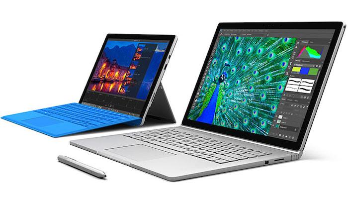 Microsoft corrige encore des problèmes du clavier de la Surface Pro 4 et Surface Book