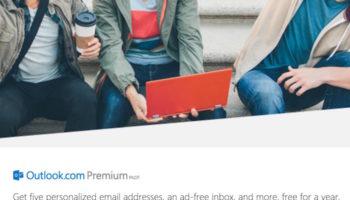 Microsoft expérimente des comptes Outlook Premium à 3,99 $ par mois