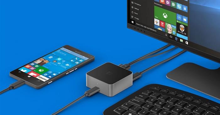 Microsoft fuit accidentellement le Lumia Phone X avec le support de Continuum