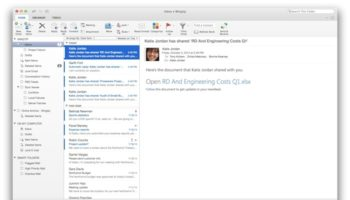 Microsoft met à jour Outlook pour Mac
