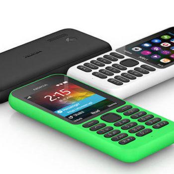 Microsoft Nokia 215 : un smartphone connecté à Internet pour 29 dollars