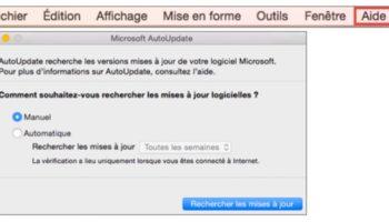 Microsoft lance Office Insider pour les utilisateurs sur un Mac
