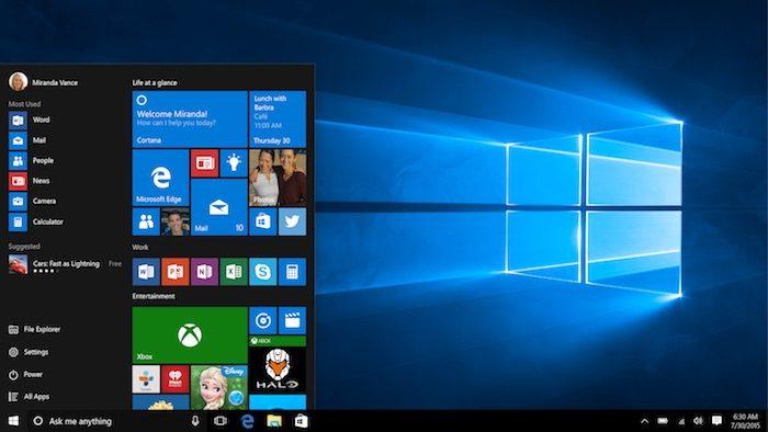 Windows 10 est parfait pour les 2-en-1