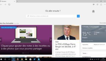 Microsoft travaille dur sur son navigateur Edge, et veut votre avis