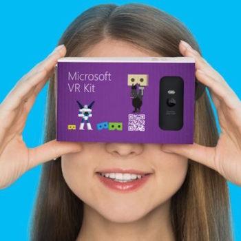 Microsoft pourrait concevoir un concurrent du Google Cardboard