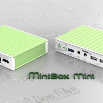MintBox Mini : vue de face