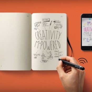 Moleskine Smart Writing Set numérise vos notes avec un stylo et un bloc-notes