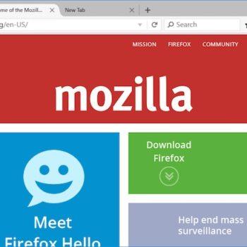 Mozilla montre la nouvelle interface Firefox pour Windows 10