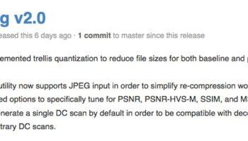 Mozilla lance une amélioration de JPEG Encoder