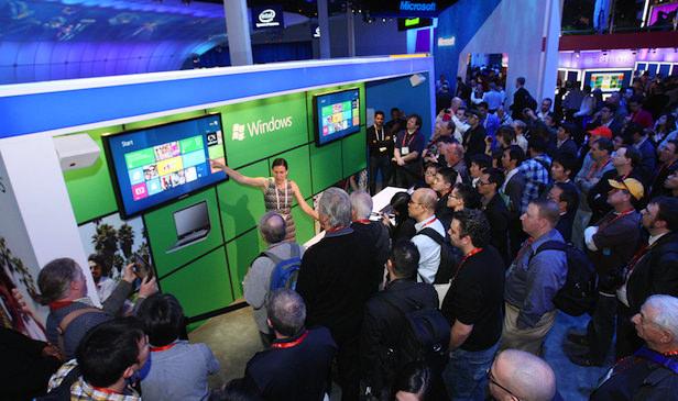 Microsoft sera de retour lors du CES en 2014