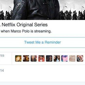 Netflix teste une fonctionnalité de rappel par tweet