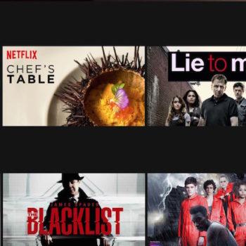 Nouveau défilement sur Netflix