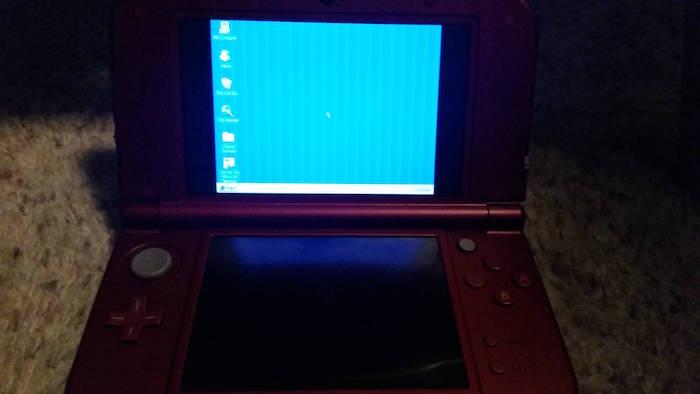 La Nintendo 3DS XL peut fonctionner sous Windows 95