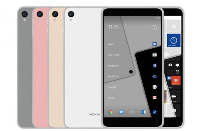 Nokia C1 : un smartphone sous Android et Windows 10 Mobile