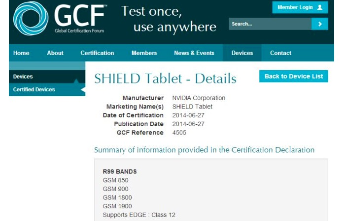 NVIDIA Shield : Global Certification Forum