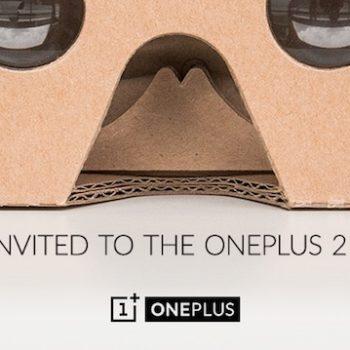 OnePlus est loin de donner des casques Cardboard de réalité virtuelle