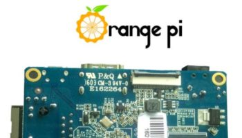 Orange Pi One : vue de dessus
