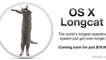 OS X 10.9 enfin dévoilé, il sera nommé Longcat