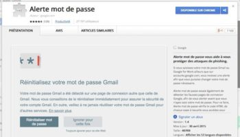 Google lance une extension Chrome pour vous protéger