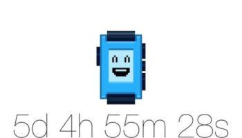 Pebble lance un chronomètre qui prend fin le 24 février