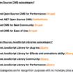 PHP en tête des projets récompensés de l