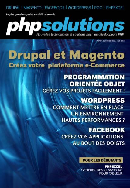 PHP Solutions : Août 2011 – Drupal et Magento