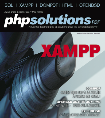PHP Solutions : Mai 2011 – XAMPP – Publication sur dompdf