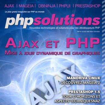PHP Solutions – Septembre 2012 – Ajax et PHP