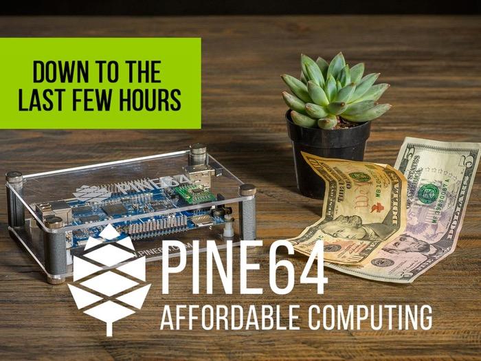 Le Pine 64 est mieux que le Raspberry Pi 3, mais déjà indisponible