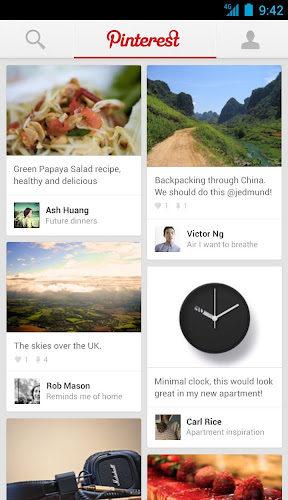 Pinterest lance les applications iPad et Android – Pinterest sur iPad